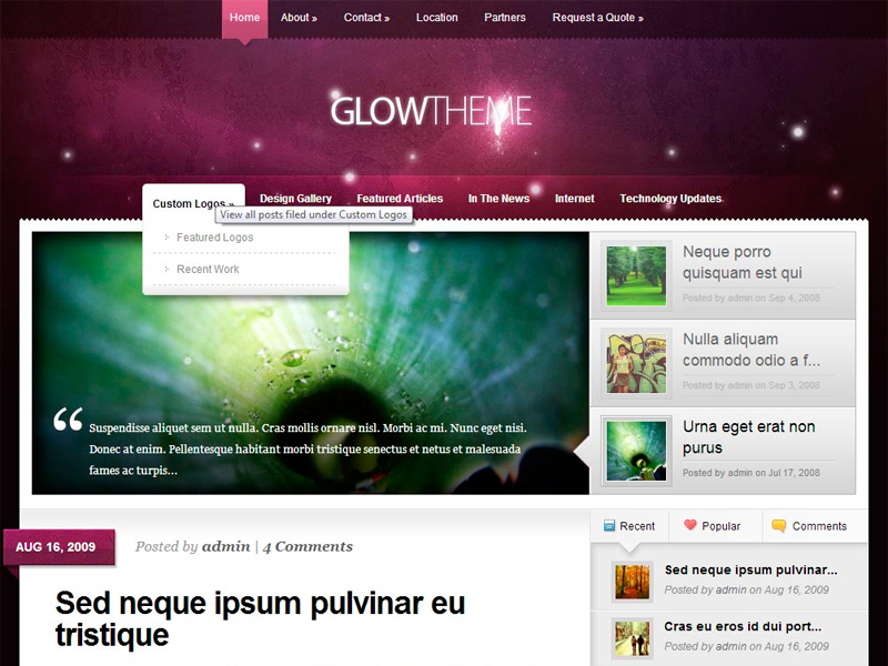 Diseño de Blog con Wordpress
