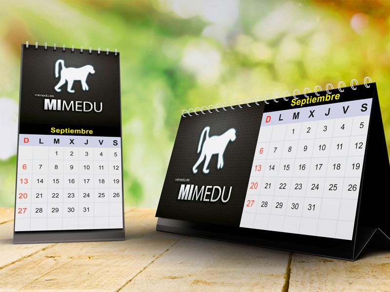 Dise o de calendarios de escritorio anzuelo estudio - Disenos de calendarios ...